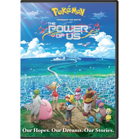 Pokemon the Movie: The Power of Us (DVD) (All Literature Shows Us The Power Of Emotion)