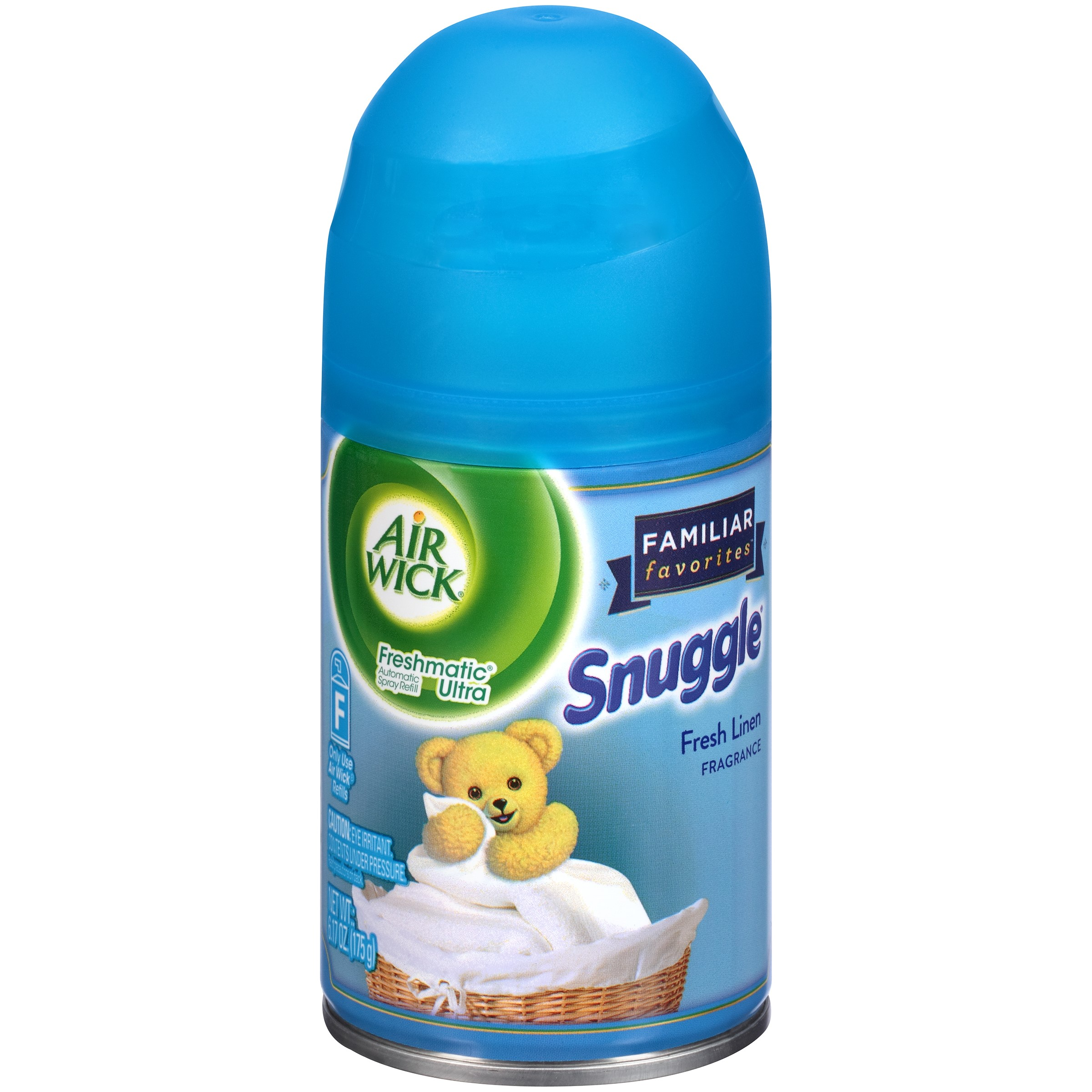 Air Wick Freshmatic Ultra Automatic Spray Refill, Snuggle Fresh Linen, 6.17 Oz