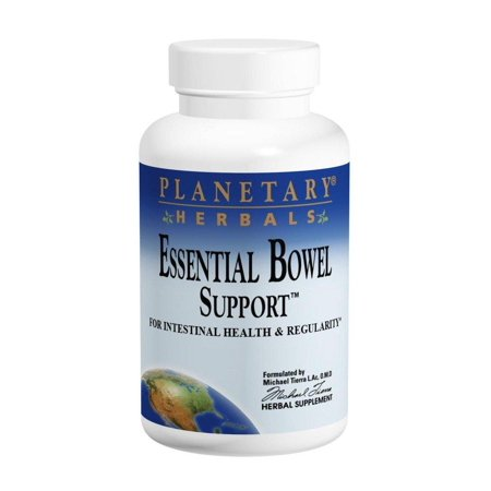 PLANETARY HERBALS Essential Bowel Support for Intestinal Health and Regularity, 30 Count