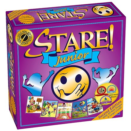 Stare! Junior Board Game - 2nd EditionA winner of the National Parenting Center Seal and the Teacher's Choice Award for the Family By Game Development Group](Halloween Small Group Games)