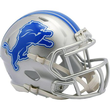 Riddell Detroit Lions Revolution Speed Mini Football Helmet Mini Football Helmet