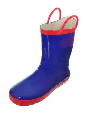 "Shoe Shox Boys' ""City Slicker"" Rain Boots (Toddler Sizes 11 - 12)"