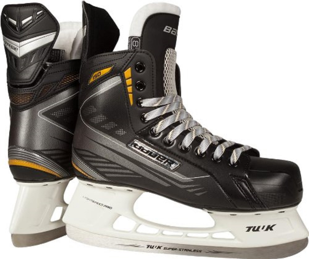 Bauer Supreme 150 Junior Hockey Skates, Size 3.5 by