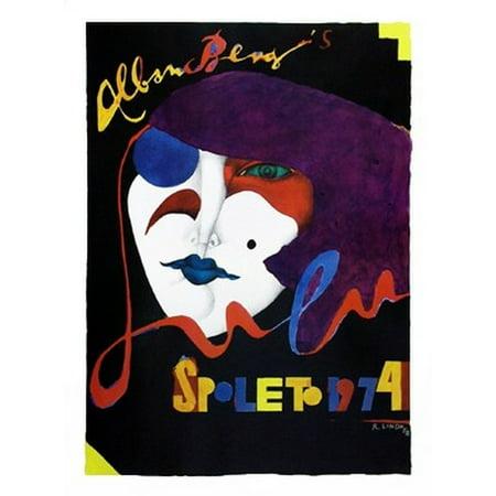 Spoleto 1974 Poster Print By Richard Lindner  34 X 45