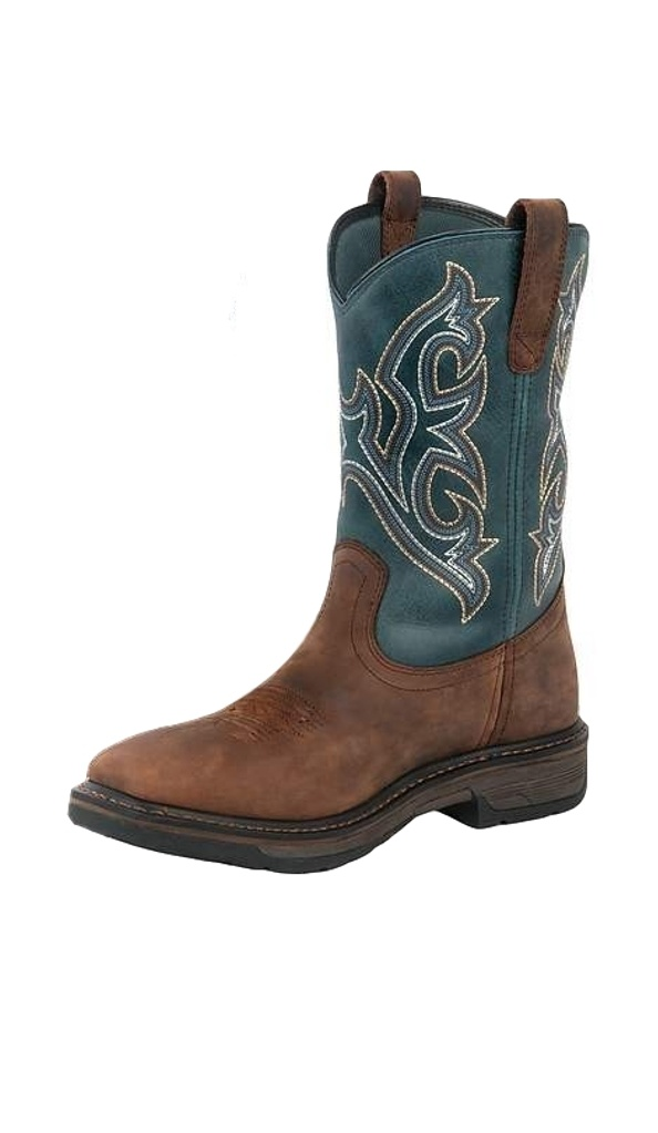 Noble Outfitters Work Boots Mens Ranch Tough Square Tobacco 65002