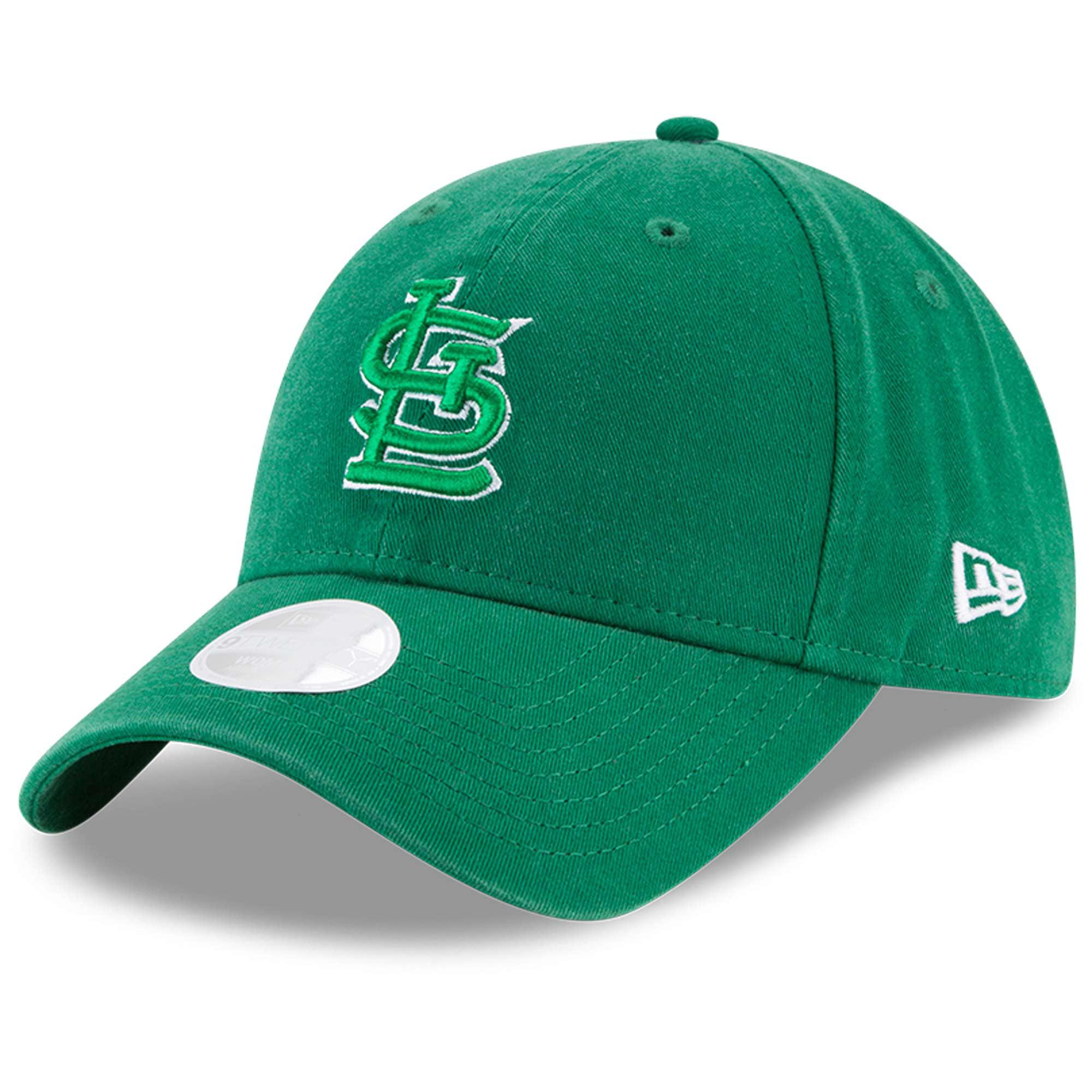 St. Louis Cardinals New Era Women's Core Classic Twill St. Patrick's Day 9TWENTY Adjustable Hat - Green - OSFA