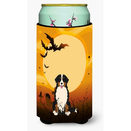 Halloween Bernese Mountain Dog Tall Boy Beverage Insulator Hugger BB4302TBC](Halloween Names For Boy Dogs)