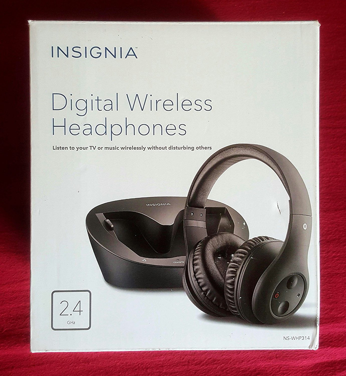 Insignia NS-WHP314 Over-the-Ear Wireless Headphone Black