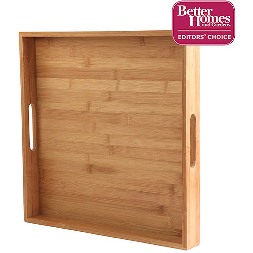 Better Homes and Gardens Bamboo Serving Tray, Natural