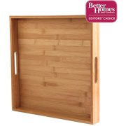 Better Homes & Gardens Natural Bamboo Serving Tray