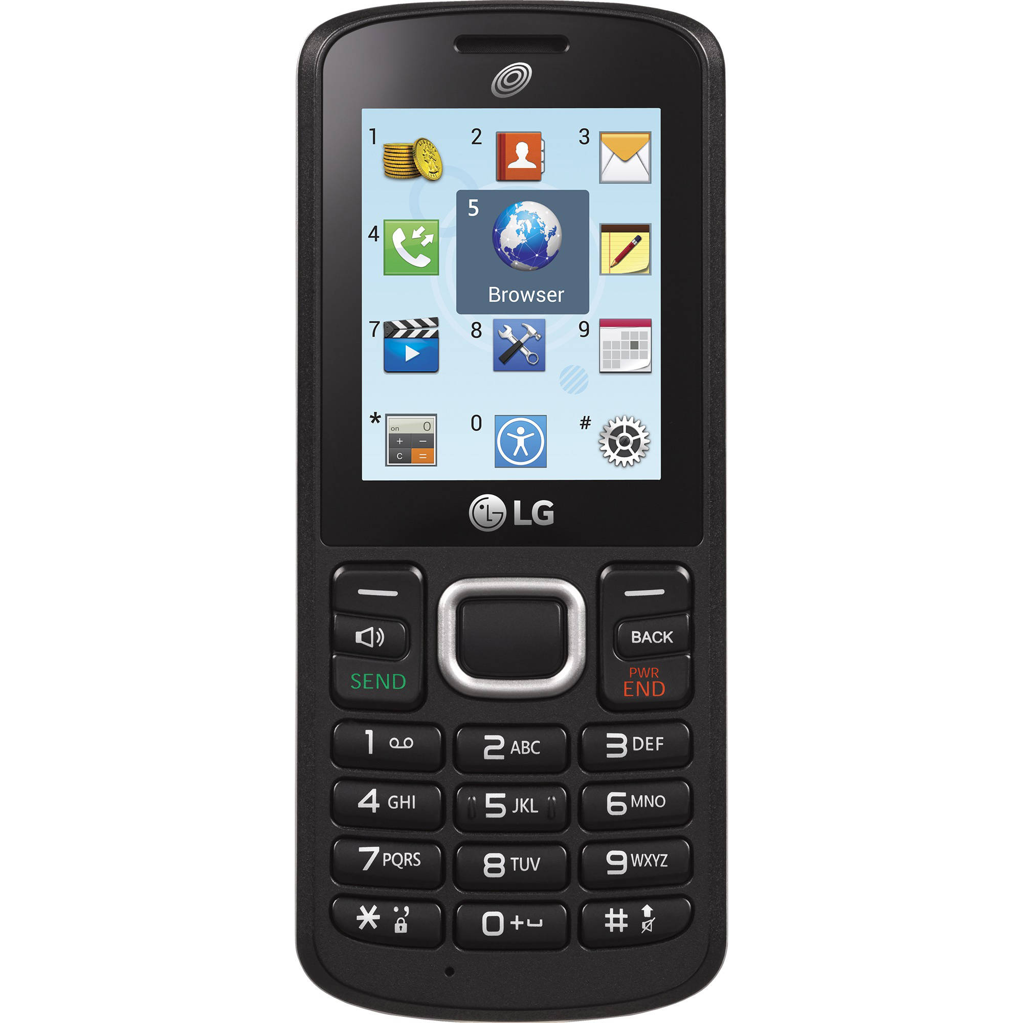 Straight Talk LG 108C Prepaid Phone