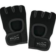 Vivi Life Pf-v8310-blk Workout Gloves, Black