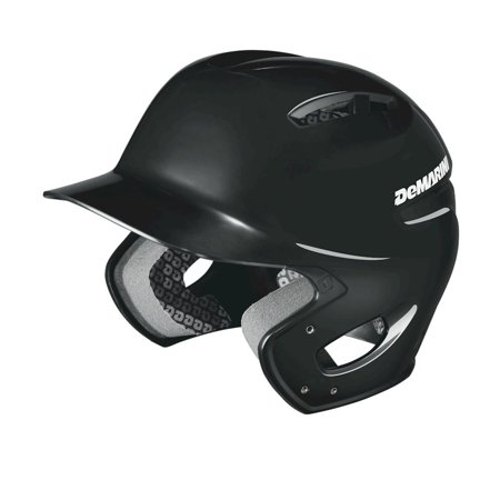 DeMarini Paradox Protege Adult Batting Helmet, Black, 6-3/8in to 7-1/8in Medium-Large (Sr)