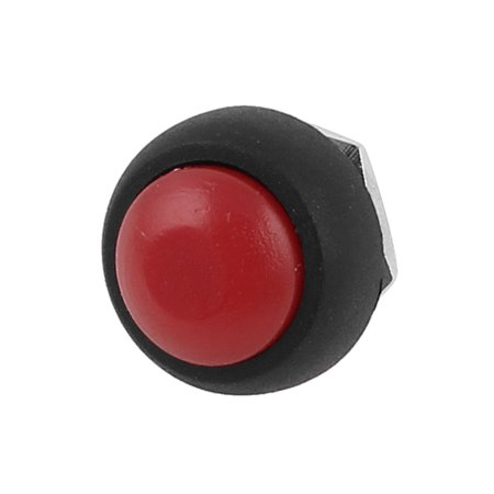 Off Momentary Switch (SPST OFF/ON Panel Mounting Momentary Head Plastic Pushbutton Switch 12mm)