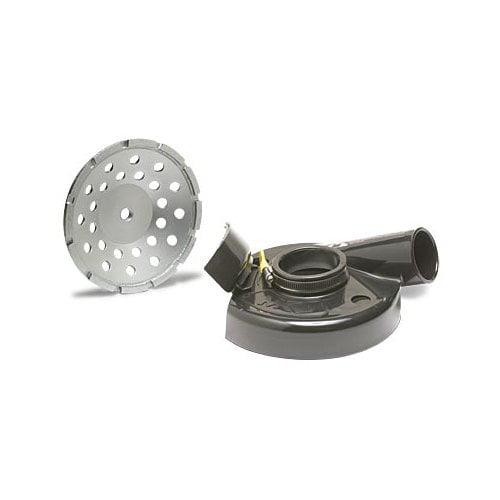 MK Diamond 167128 MK-IXL HInged Vacuum Shroud Kit w/Cup Wheel