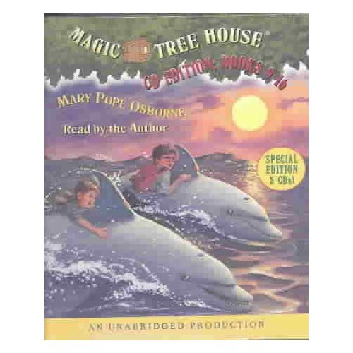 Magic Tree House Books 9-16: Dolphins at Daybreak/Ghost Town at Sundown/Lions at Lunchtime/Polar Bears Past Bedtime/Vacation Under the Volcano/Day of the Dragon King/Viking Ships