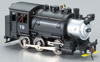 HO 0-6-0T w/DCC & Sound, BSCX Multi-Colored