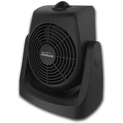 Sunbeam 2-In-1 Tilt & Heat Personal Heater Fan