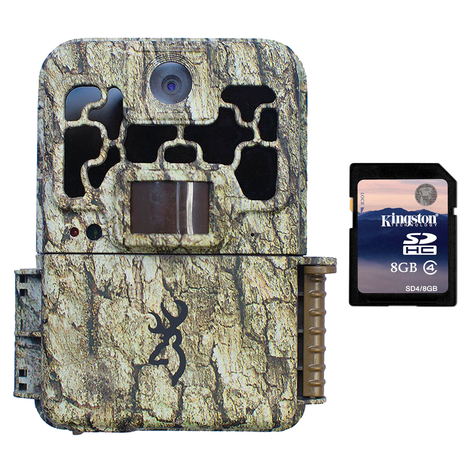 Browning Trail Cameras Spec Ops 10MP HD Video Infrared Game Camera + 8GB SD Card by Browning Trail Cameras