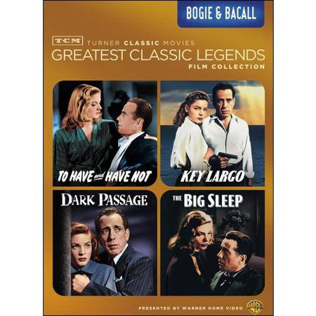 Classic Keys Bundle (TCM Greatest Classic Films: Legends - Bogie & Bacall: To Have And Have Not / The Big Sleep / Dark Passage / Key Largo )