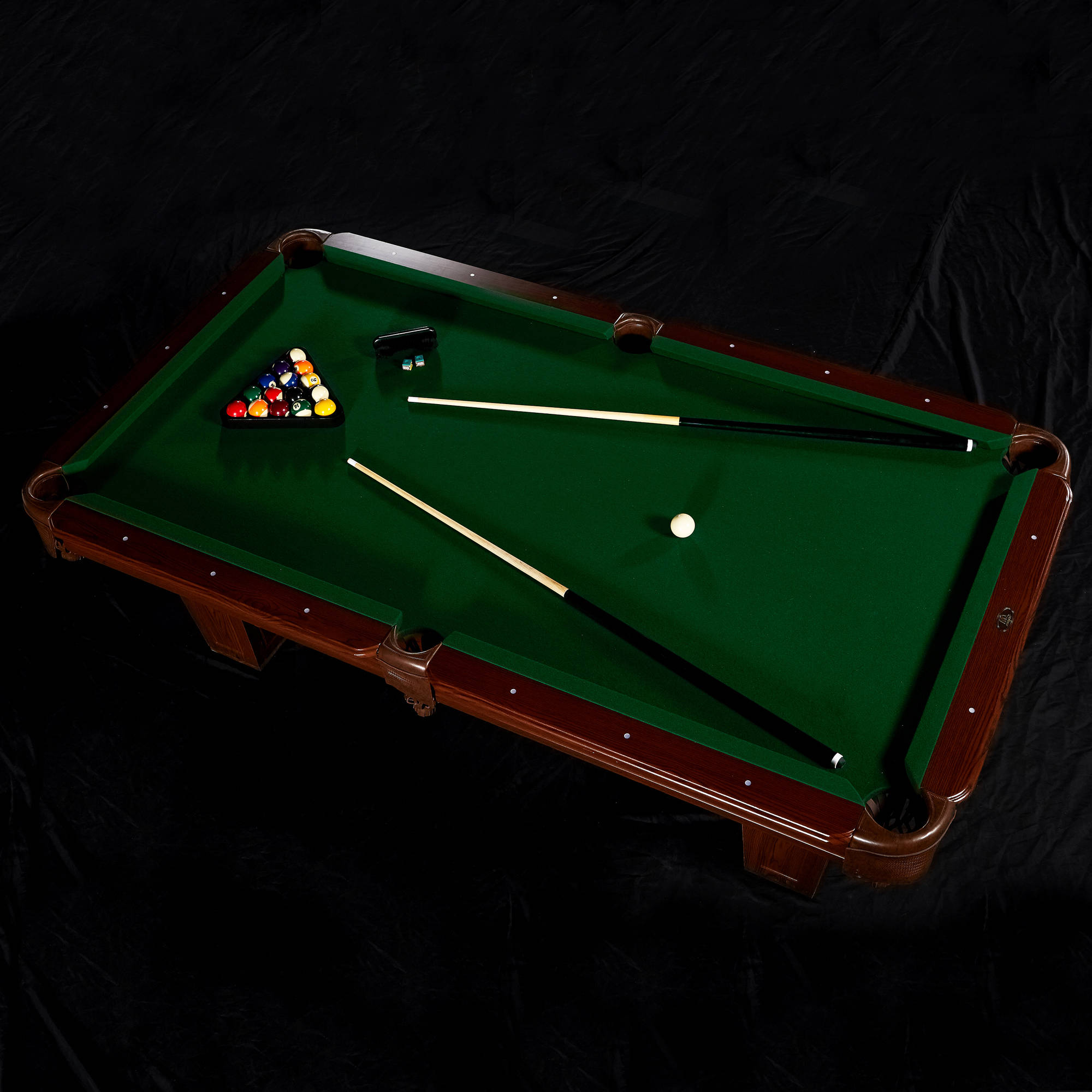 ... MD Sports Crestmont 8 Ft Billiard Pool Table ...