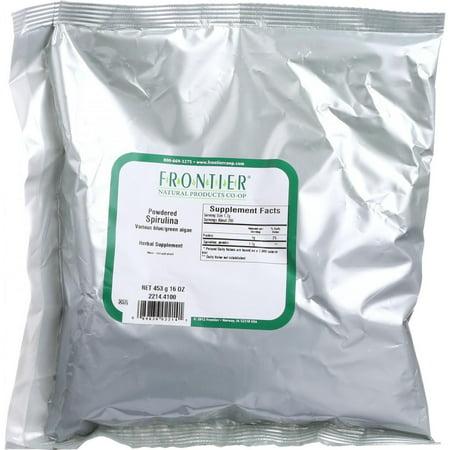 Frontier Herb spiruline en poudre - en vrac - 1 lb