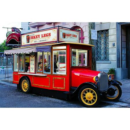 Canvas Print Car Classic Orlando Turkey Universal Brum Stretched Canvas 10 x 14