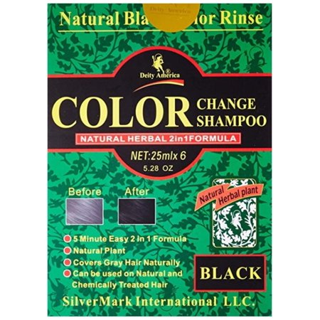 Deity America Color Change Shampoo Black, 5.28 oz