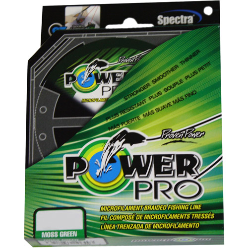 PowerPro Microline Fishing Line, Green, 500 yd