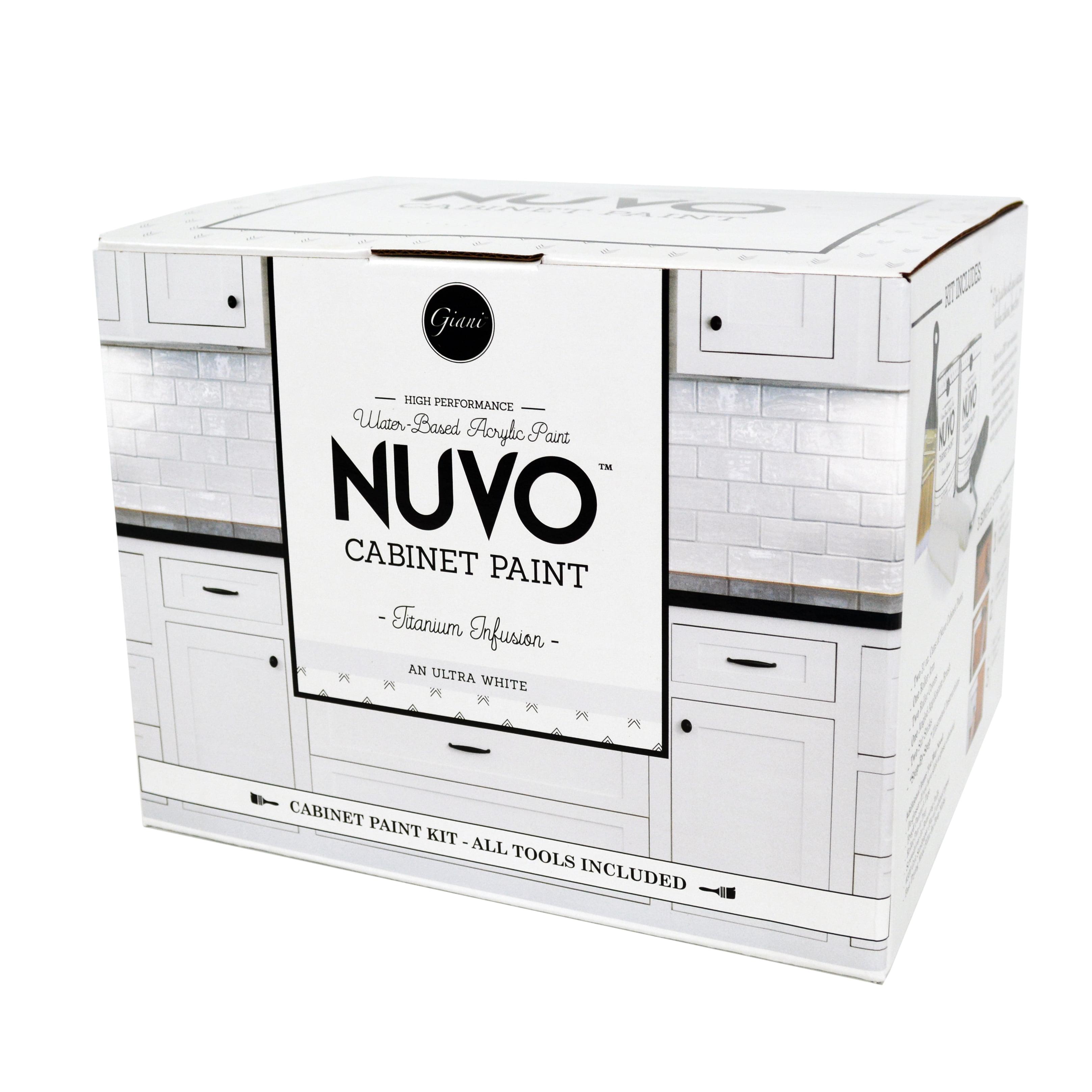 Nuvo Titanium Infusion Cabinet Makeover Paint Kit Walmart Com Walmart Com