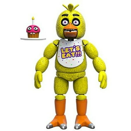 FUNKO ARTICULATED ACTION FIGURE FNAF - CHICA (Fnaf 4 Halloween Update Trailer)