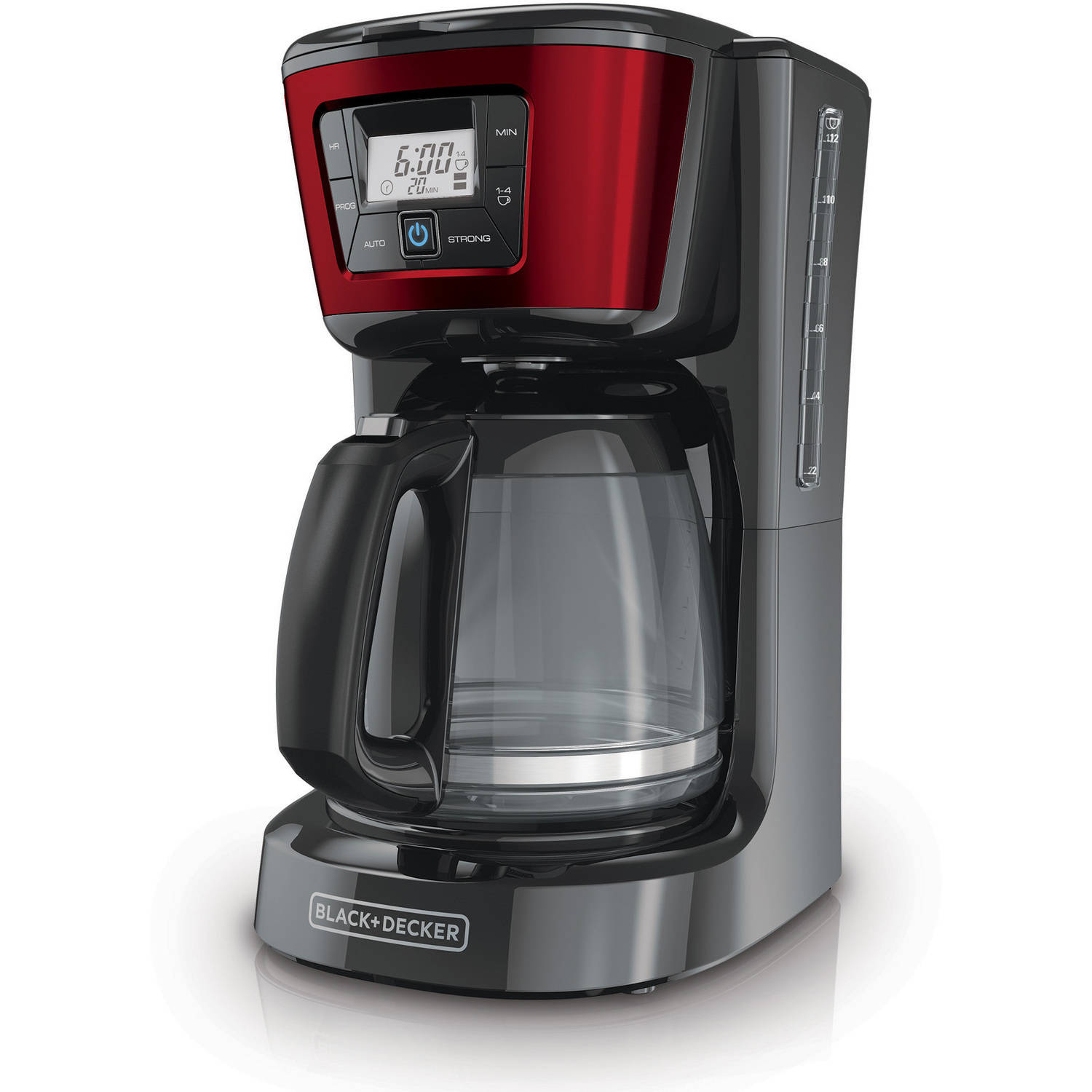 BLACK+DECKER 12-Cup Programmable Coffee Maker, CM2030R