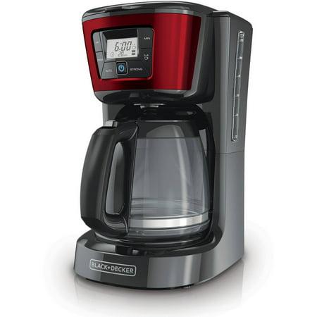 BLACK+DECKER 12-Cup Programmable Coffee Maker, CM2030R