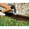Ecoborder 24 ft No Dig Landscape / Garden  Border Edging (Black) 48L x 3W x 3H in - Pack of 6