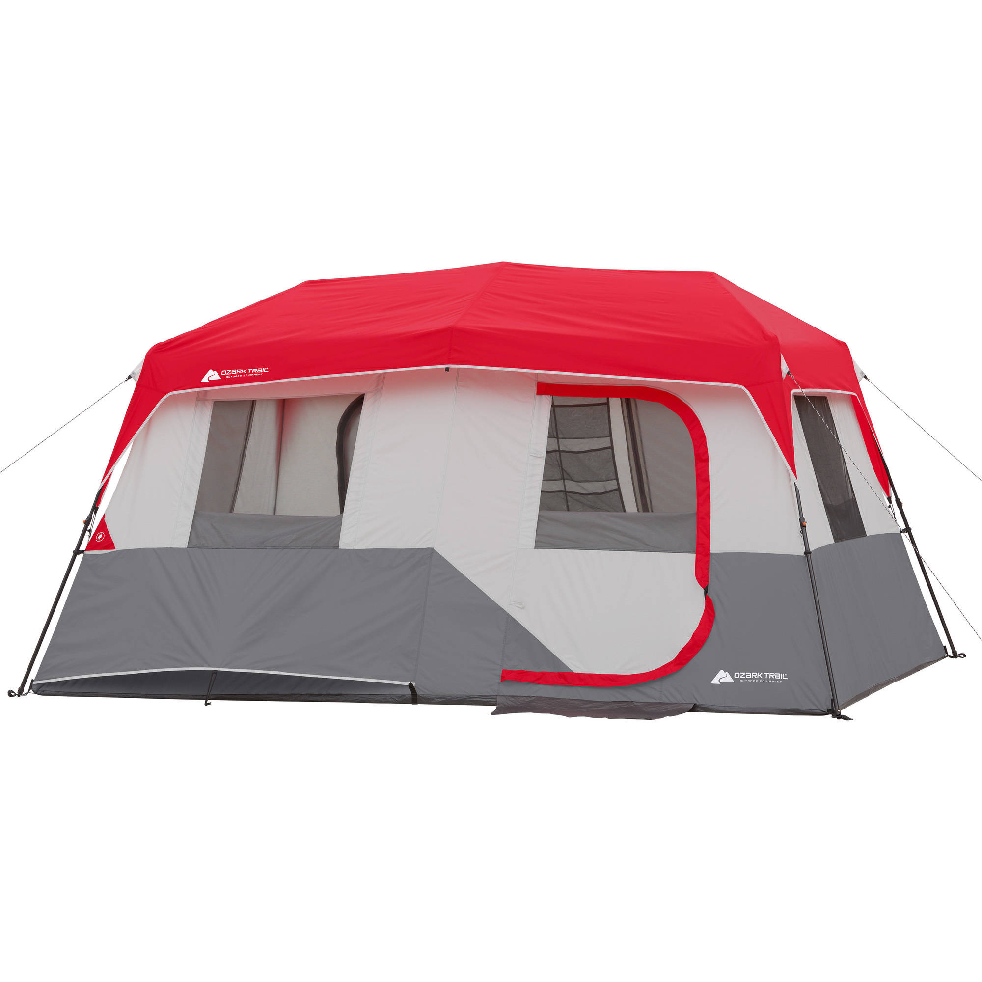 "Ozark Trail 13' x 9' x 72"" Instant Cabin Tent, Sleeps 8"