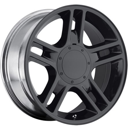 20 Inch Replica 108B Harley F150 20x9 5x135/5x139.7 +14 Black Wheel (2007 F150 4 Wheel Drive Not Engaging)