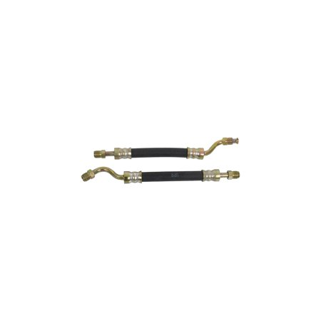 MACs Auto Parts Premier  Products 44-35558 - Mustang Concours Correct Power Steering Control Valve to Cylinder Hoses, Pair Mustang Power Steering Cylinder