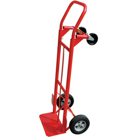 Milwaukee 600 lb  Capacity 2-in-1 Convertible Hand Truck