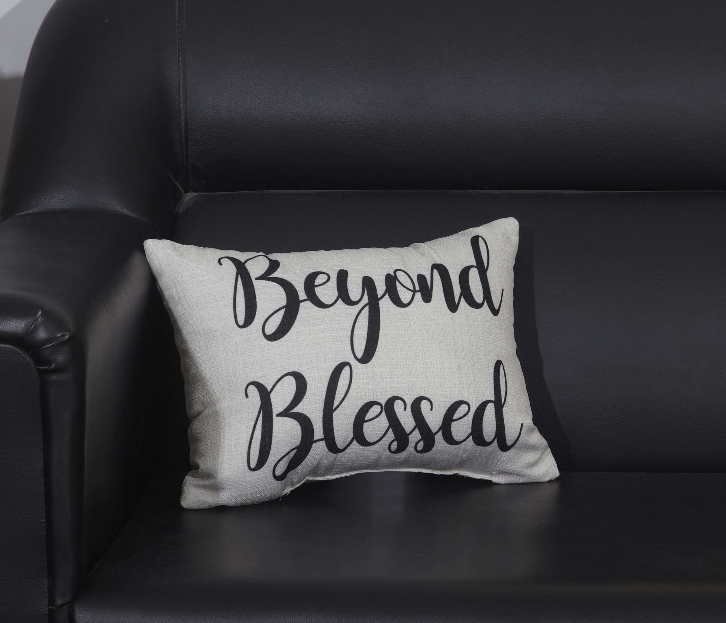 mainstays beyond blessed decorative throw pillow 12 x 16