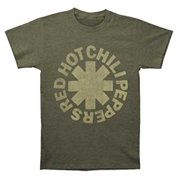 Red Hot Chili Peppers Tonal Asterisk Band T-Shirt Rock n Roll Tee RHCP 14531299