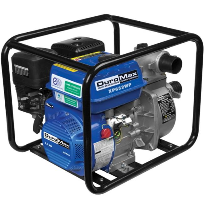 DuroMax XP652 Portable 2 in. Water Pump 7.0 Hp. Gasoline ...