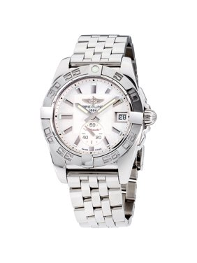 Breitling Mother Of Pearl Dial Stainless Steel Ladies Watch A3733012/A716/376A