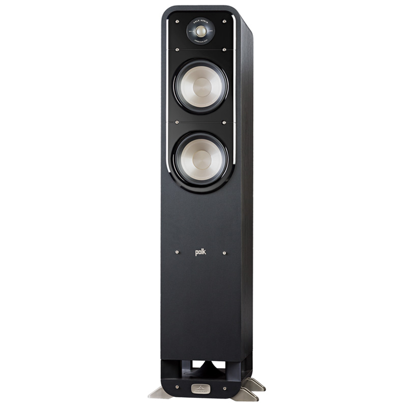 Polk S55 American HiFi Home Theater Tower Speaker (Black) by Polk Audio