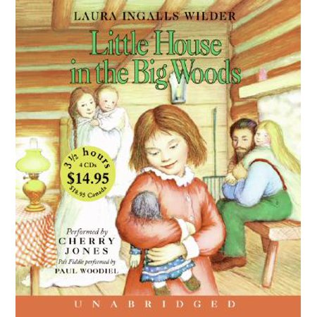 Little House in the Big Woods Unabr CD Low Price (Little House In The Big Woods Lapbook)