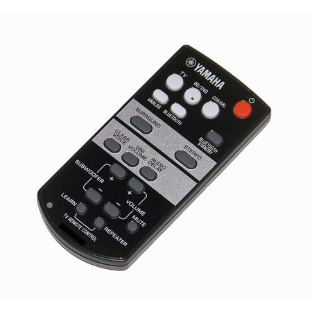 OEM Yamaha Remote Control Originally Shipped With: ATS-1030, ATS1030, YAS-103, YAS103