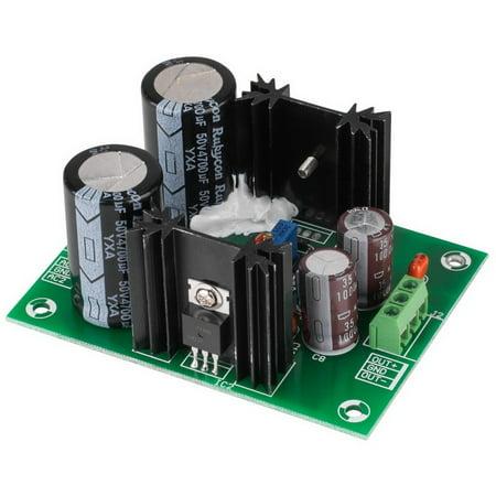 Adjustable Voltage Regulator Power Supply Board +/- 1.25V to 37V DC Output LM317/LM337 Design