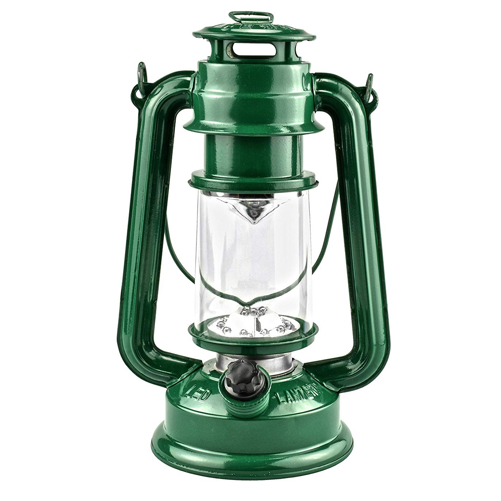 Porch Light Green: ASR Outdoor 15 LED 9.5 Hurricane Hanging Lantern Camping