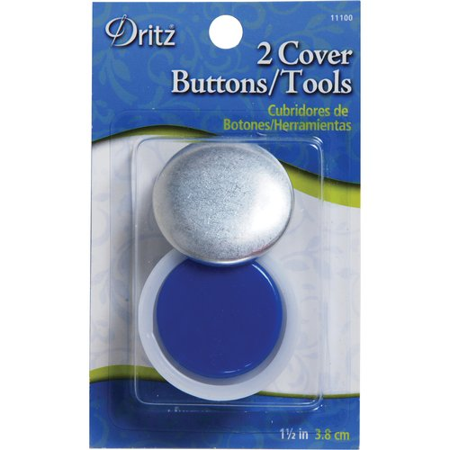 Dritz Cover Button Kit - 1-1/2in