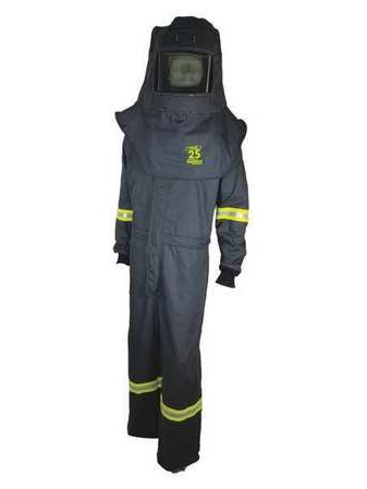 TCG25™ Series Arc Flash Hood, Coat, & Bib Suit Set OBERON COMPANY TCG3B-L