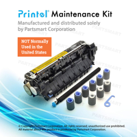 Printel Compatible CB389A Maintenance Kits (220V) for HP LaserJet P4014, LaserJet P4015, LaserJet P4515, with RM1-4579-000 Fuser Included